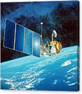 Topex/poseidon Satellite Canvas Print