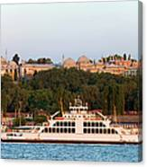 Topkapi Palace In Istanbul Canvas Print