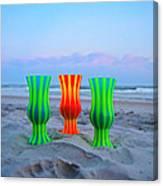 Topsail Hurricane Glasses Canvas Print