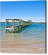 Topsail Island Sound Canvas Print