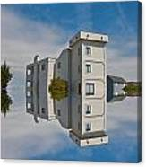 Topsail Island Tower Reflection Canvas Print