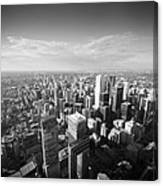 Toronto From Above Canvas Print