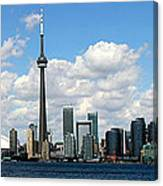 Toronto Skyline 10 Canvas Print