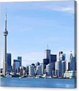 Toronto Skyline Canada  Canvas Print