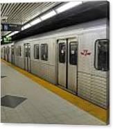 Toronto Subway Canvas Print