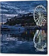 Torquay Marina And The Big Wheel Canvas Print