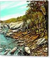 torrente Farma Canvas Print