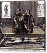 Torture, 16th Century Canvas Print