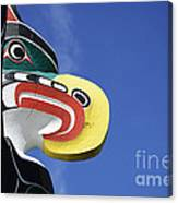 Totem Pole 10 Canvas Print