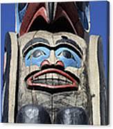 Totem Pole 8 Canvas Print