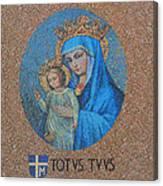 Totvs Tvvs - Jesus And Mary Canvas Print
