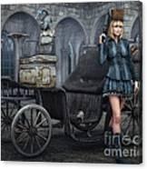Tough Lady Canvas Print
