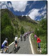 Tour De France 1 Canvas Print