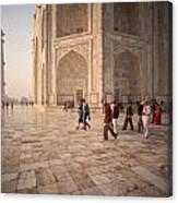 Touring Taj Canvas Print
