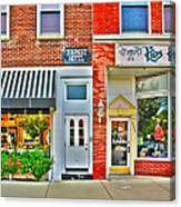 Tourist Hotel-downtown Perrysburg Canvas Print