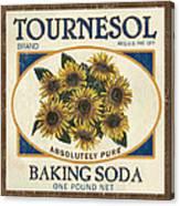 Tournesol Baking Soda Canvas Print