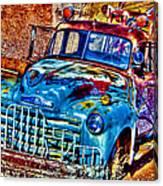 Tow Truck Canvas Print