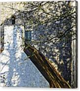 Tower And Thatch Canvas Print
