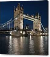Tower Bridge Dusk Canvas Print