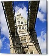 Tower Bridge In London Canvas Print