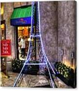 Tower For Sale Canvas Print