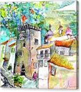 Tower in Ponte de Lima in Portugal Canvas Print