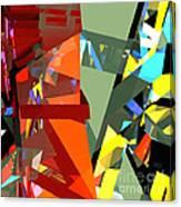 Tower Series 44 Tangerine Picnic Canvas Print