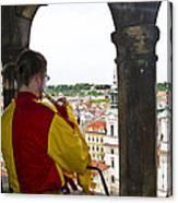 Tower Trumpeter - Prague Canvas Print