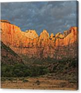 Towers Of The Virgin Canvas Print