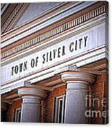 Town Of Silver City New Mexico Canvas Print