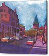 Town With Colors Canvas Print