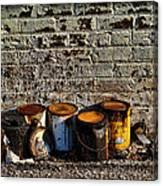 Toxic Alley Grunge Art Canvas Print