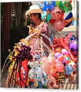 Toy Vender In San Jose Del Cabo Mexico Canvas Print