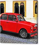 Trabant Ostalgie Canvas Print