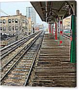 Track Lines Canvas Print