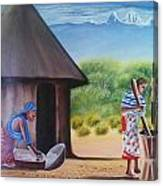 Traditional African Women Canvas Print