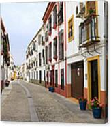 Traditional Houses In Cordoba Canvas Print