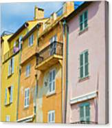 Traditional Houses Canvas Print
