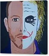 Tragic Jokerman Canvas Print