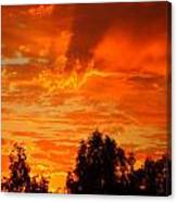 Trailing Clouds Of Glory Canvas Print