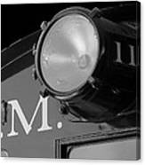 Train Headlight Canvas Print