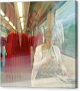 Train Travel Canvas Print