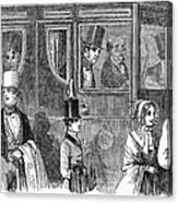 Train Travel: First Class Canvas Print