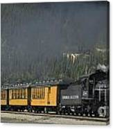 Trainload Of Tourists Canvas Print