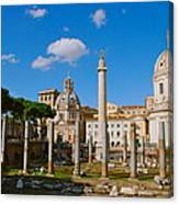 Trajan's Market Canvas Print