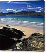 Tramore Strand And Loughros Mor Bay Canvas Print