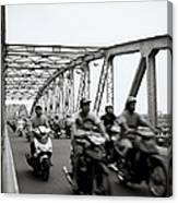 Trang Tien Bridge Hue Canvas Print