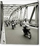 Trang Tien Bridge Canvas Print