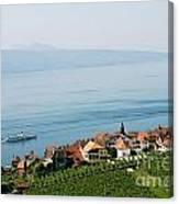 Tranquil Lake Geneva Canvas Print