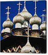 Transfiguration Cathedral On Kizhi Canvas Print